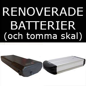 Renoverade Batterier